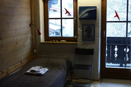 Twin room close to ski bus stop - Vorderkrimml