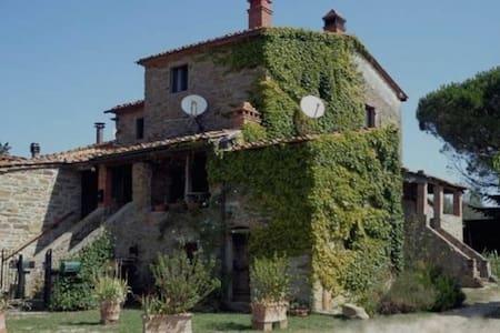 ALQUERÍA EN LA TOSCANA - Bucine - House