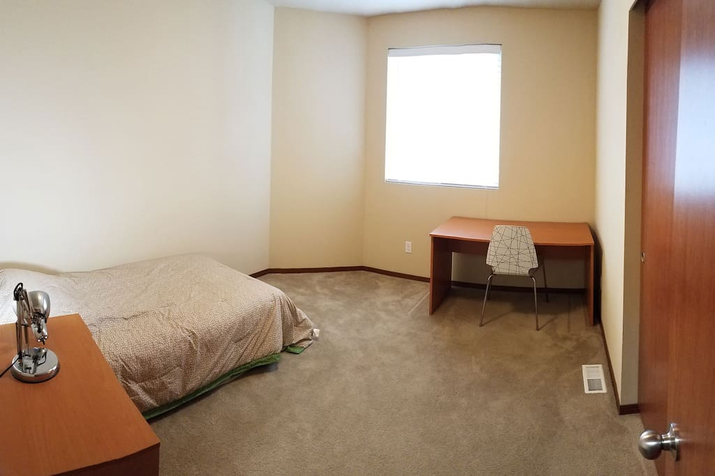Your room, bigger bed is available also