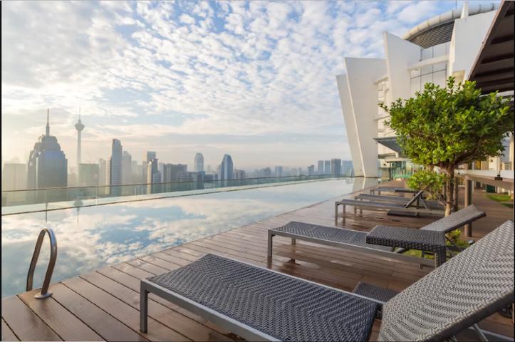Rooftop Infinity Pool Klcc View @Regalia Suite