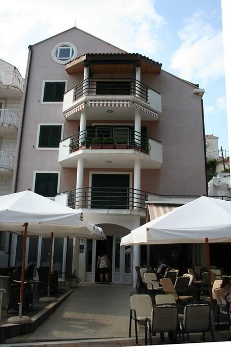facade building