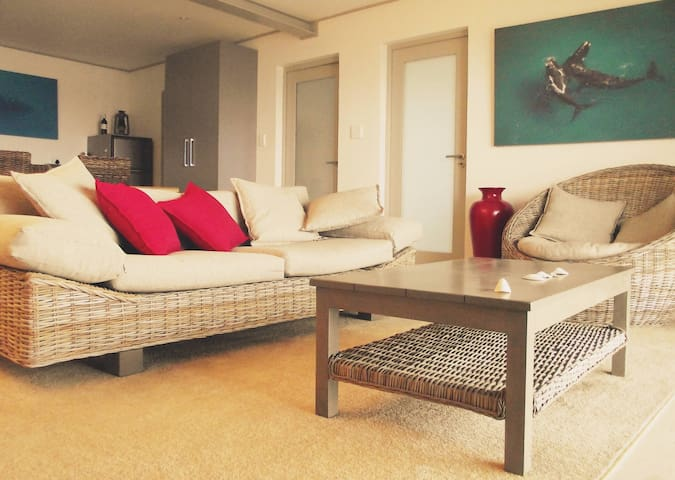 Modern apartment on the sea front - De Kelders - Wohnung