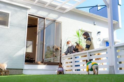 日向サーフキャンプ203 - ペットと泊まれる一軒家