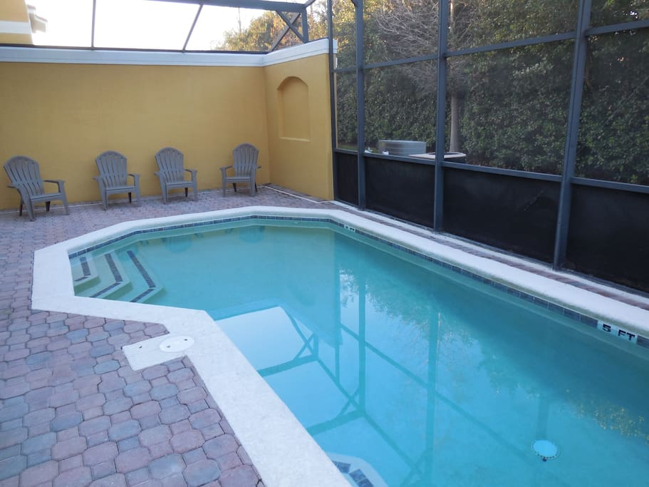Soak up the sun in your own private pool.