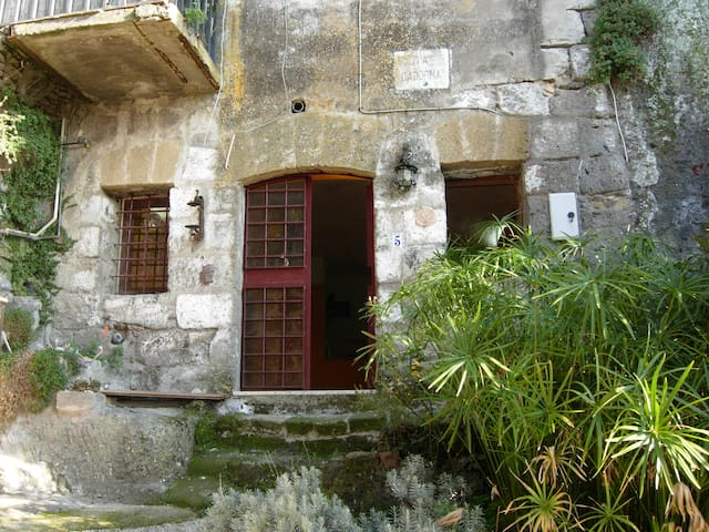 Loft in Calcata medieval Village - Calcata - Apartemen