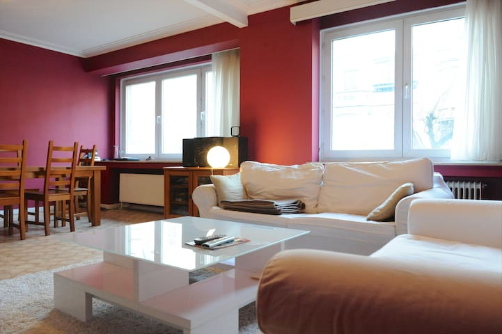 Cozy apartment in Brussels - Schaerbeek - Huoneisto