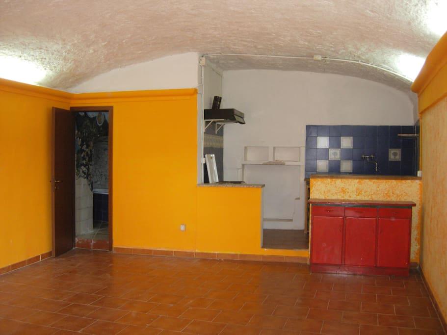 Loft in Calcata medieval Village