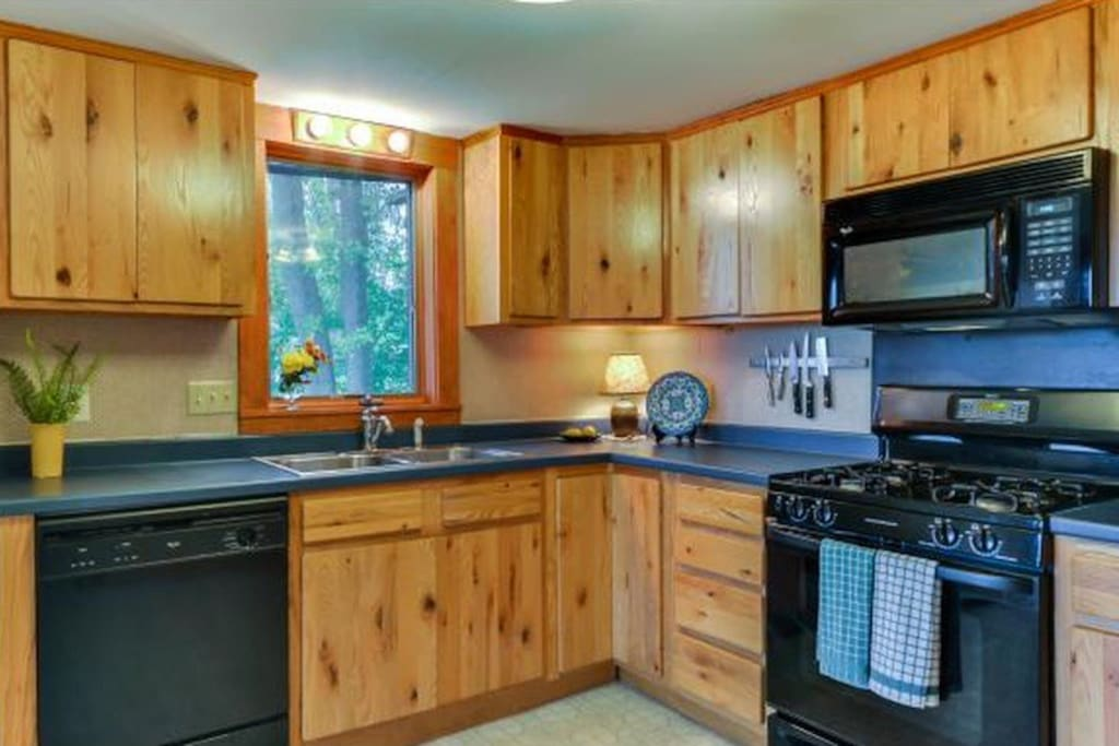 Beautiful, spacious kitchen...with all of the amenities you will need.