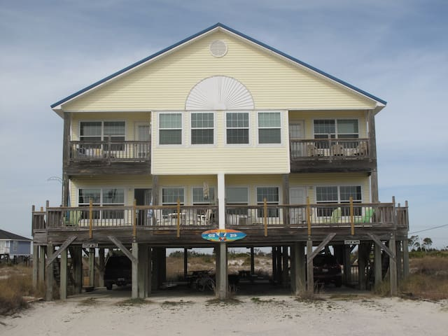 Beautiful beach house on the Gulf - Gulf Shores - Haus