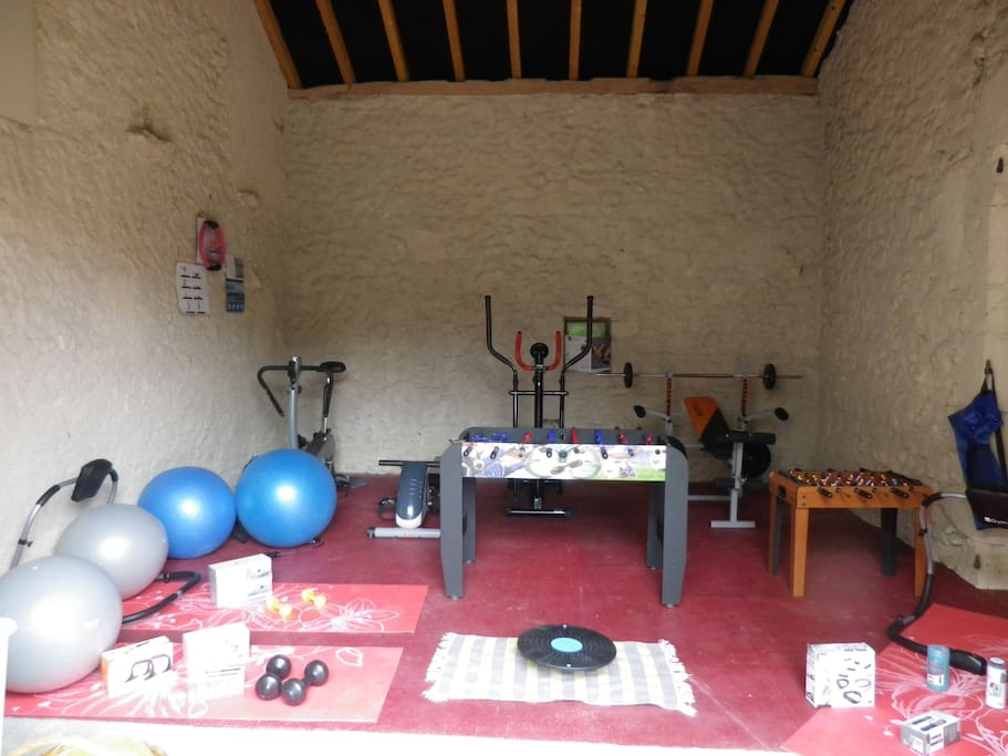 Fitness-sport-room of larouquettebeauville
