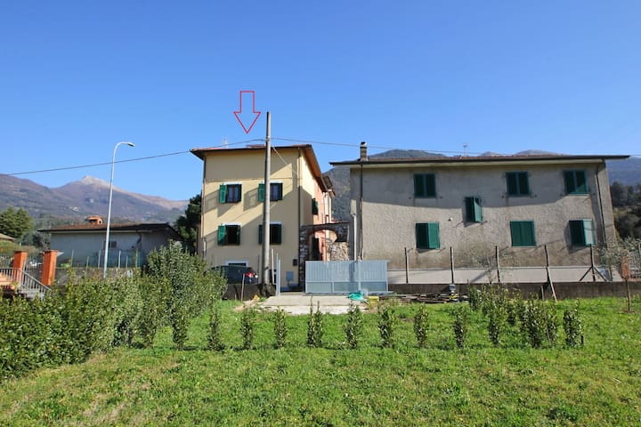 House in Camaiore center for 5 People with Garden
