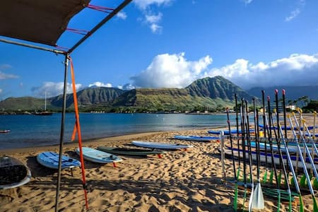 Oceanview 4 Bedroom Walk to Beach in Makaha - Waianae