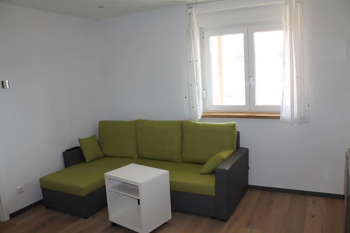 Moderne Wohnung mit Ausblick