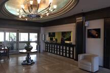 Ocean Manor Hotel Reception