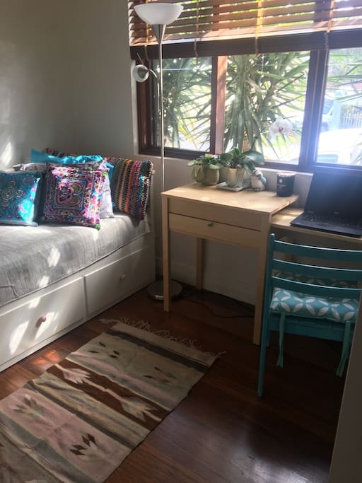 Second bedroom, bed converts to a double
