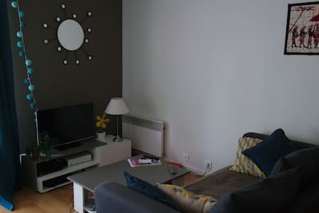 Grand studio lumineux avec balcon - Le Vésinet
