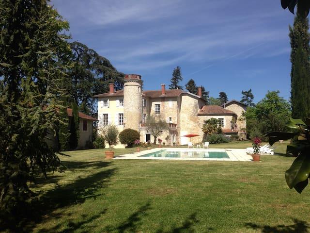 Château avec piscine - Astaffort - 성