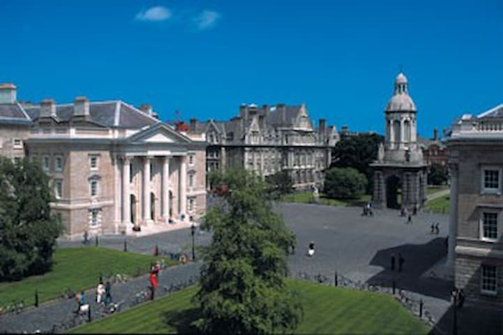 trinity college dublin within walking distance