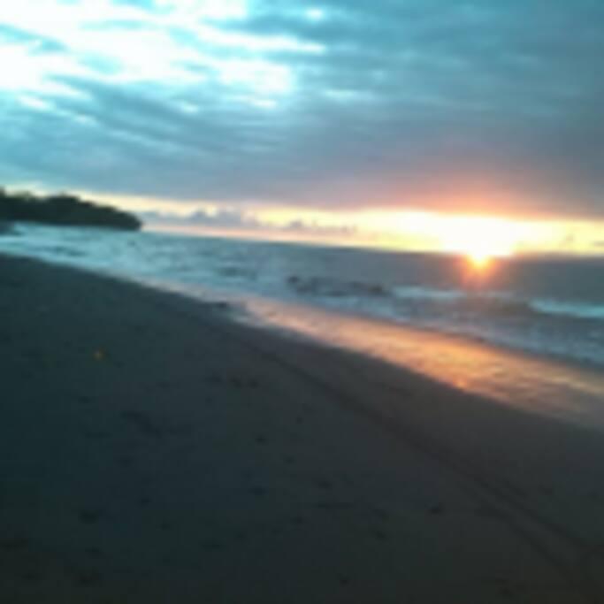 Every night a new beautiful sunset.