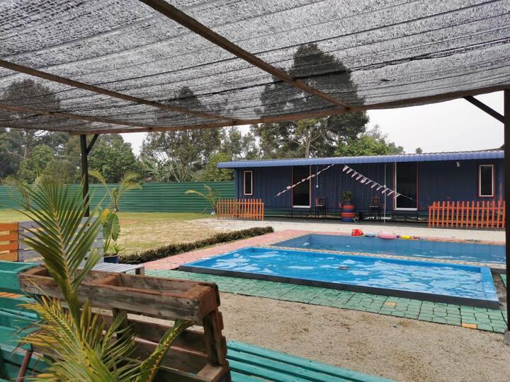 Kontena #1 at D'cottage 706, Muar Johor