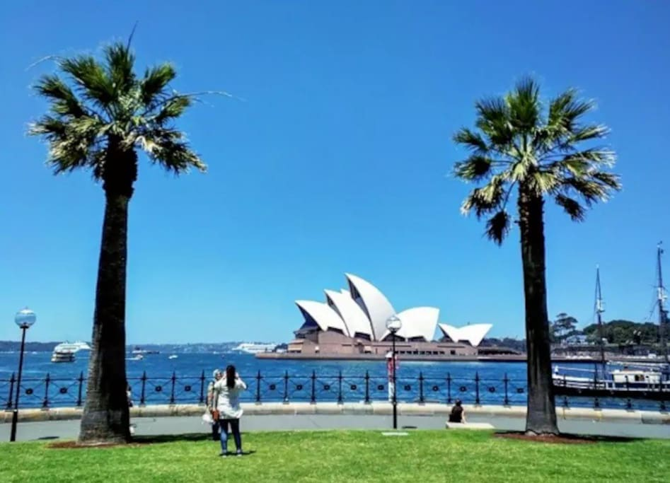 Opera House view 4 minutes walk