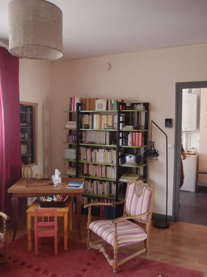 Appartement rénové, spacieux et lumineux.