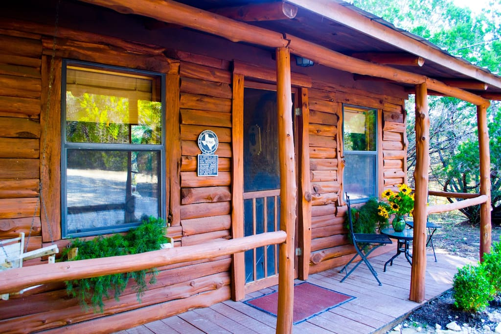 cozy cabin cabins for rent in wimberley texas united