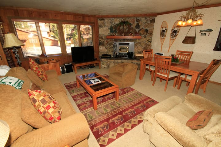 Mountainback #94, 2 Bedroom, 2 Bath - Mammoth Lakes - Cabin