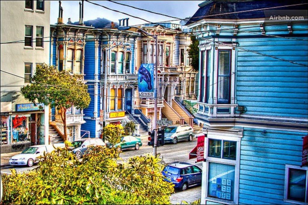The Uber Hip Lower Haight Neighborhood