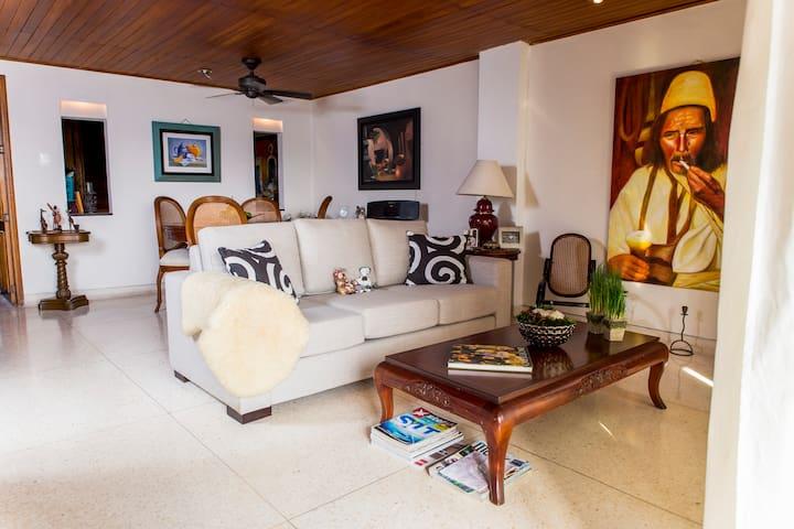 Humble 120 SQM Flat in Barranquilla - Barranquilla - Διαμέρισμα