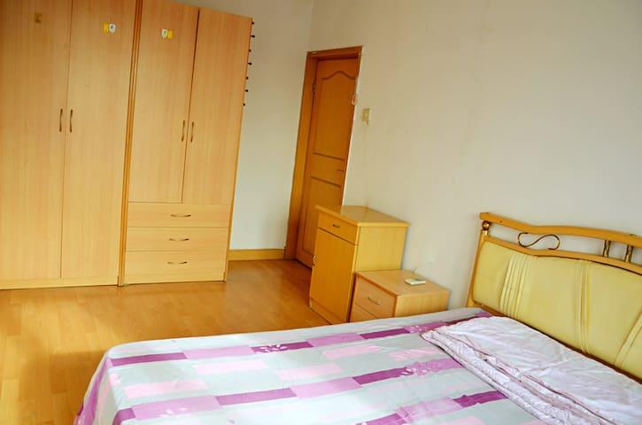 温馨大卧室 阳光充沛 朝阳公园附近 - Peking - Wohnung