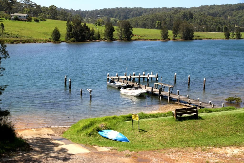Private Jetty and Boat ramp