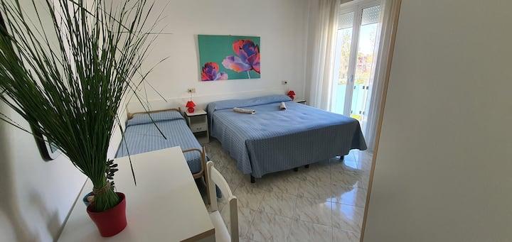 Appartamento a Miramare-Rimini a 200 m. dal mare