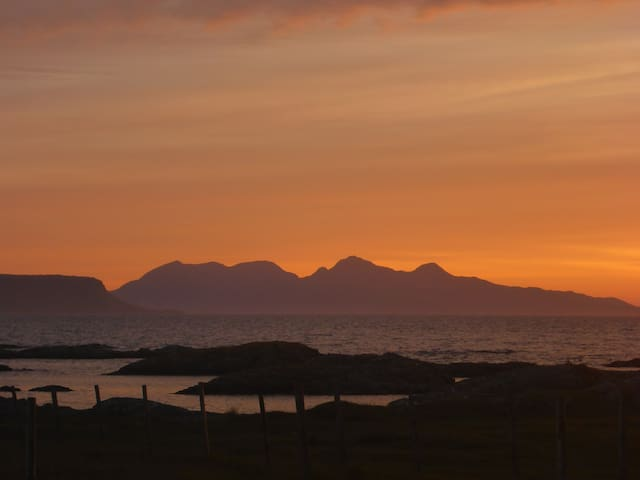 Comfortable Double Room with Sea Views - Arisaig