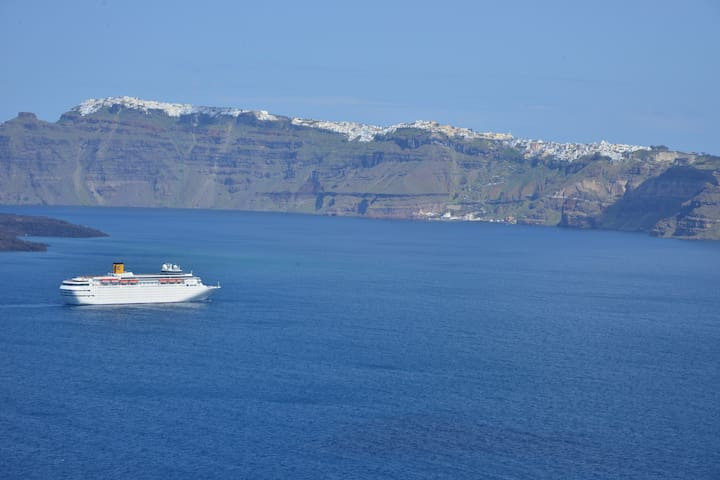 See Santorini Akrotiri Sea view 2 - Santorini - Wohnung