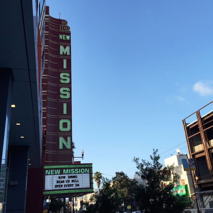 Fotografija mjesta Alamo Drafthouse Cinema u četvrti Mission District