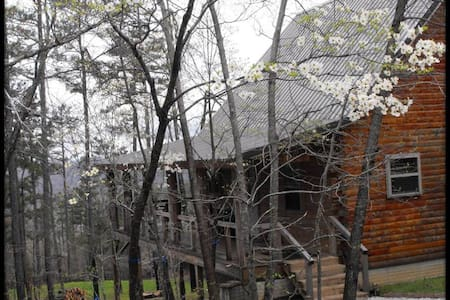Deer Lodge Cabin Rentals, Dogwood Cabin - Jasper - Blockhütte
