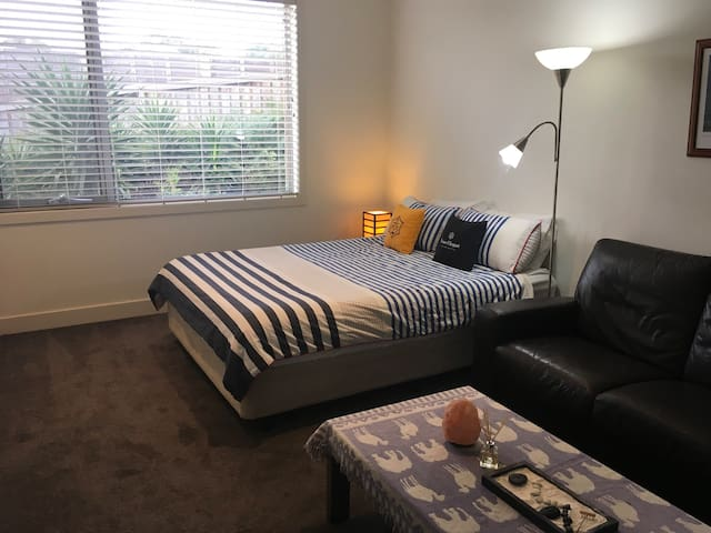 Large sunny private bedroom