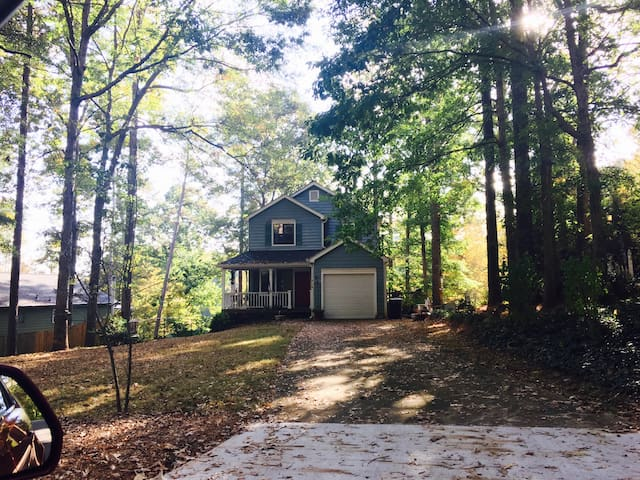 Boat Fish Swim-36mins to downtown - Snellville - House