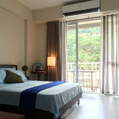 1BR at Pico de Loro Hamilo Coast with Balcony
