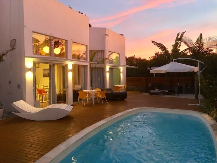 No3 Casa de Praia com Piscina/ Stylish Beach House