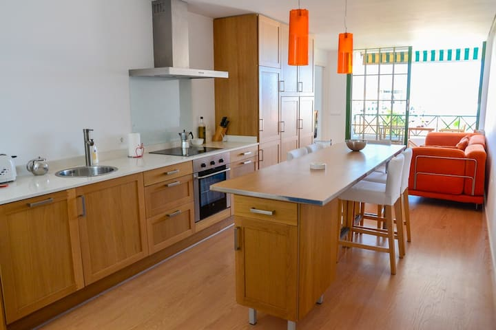 Stylish 2-bed apt w/ pool & views - Illes Balears - Lakás