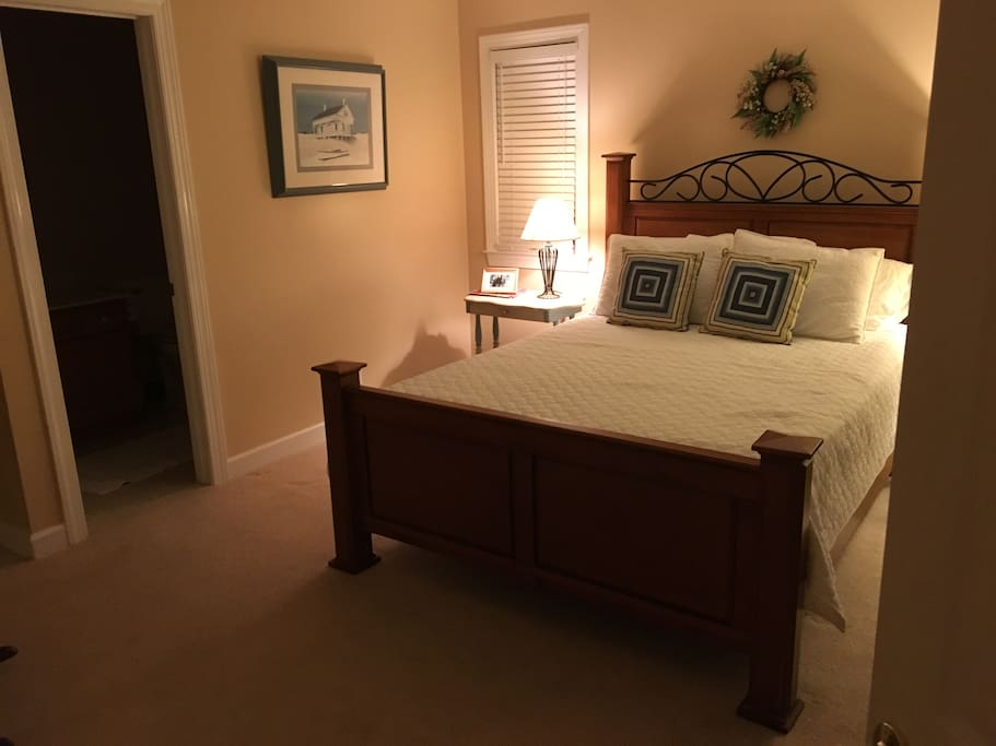 Guest bedroom with private bath