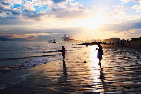 鼓浪屿海边别墅—【遥远森林】 一分钟,你就可以享受小七家门口金色的沙滩  靠近日光岩 陪你看日出日落
