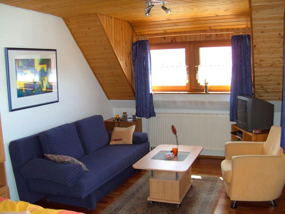 Eine gemütliche Studiowohnung im OG des Hauses