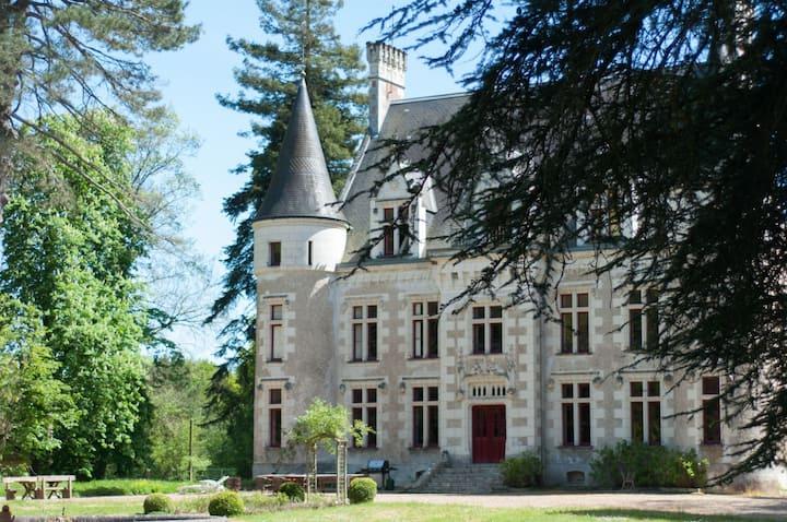 Château le Grand Biard, 18km van Chenonceau & Zoo