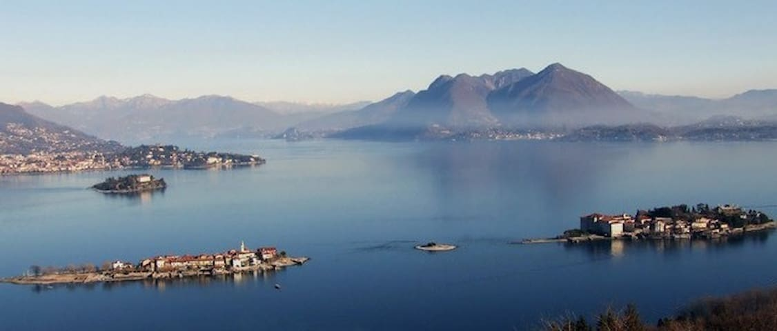 Lago Maggiore Lake AAA Villa&Garden - Monvalle - Hus