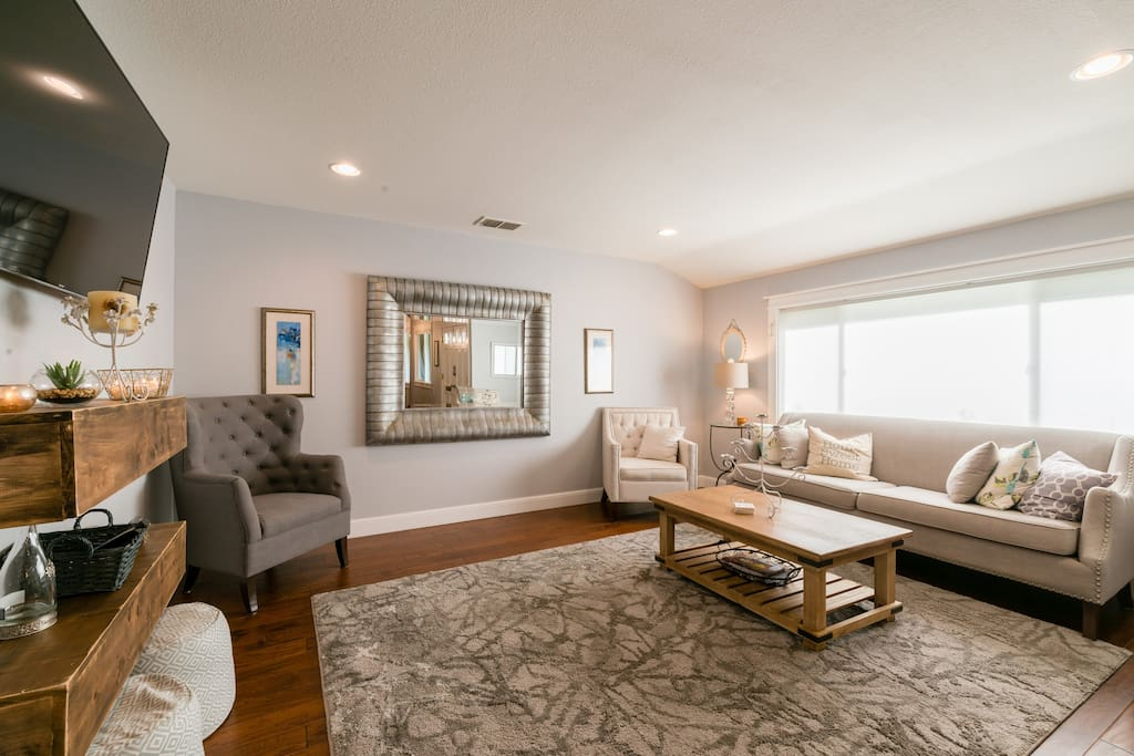 Relax and spend time with family and friends in a comfortable living space
