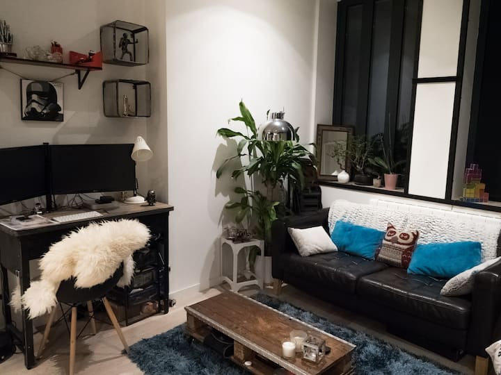 Studio Loft 10 min  from paris