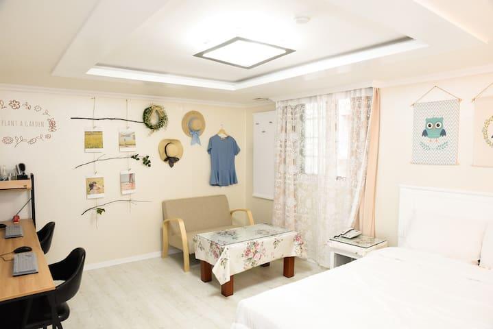 디자인모텔i_301_Eco house - Dong-gu - Appartement
